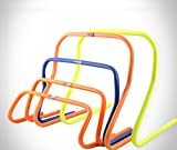 POWERSHOT Hürden Trainingshürden 5er Set Koordinationshürden 15, 23, oder 30cm Fußball (15cm)
