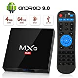 Android 9.0 TV Box 4GB+64GB superpow MXQ MAX Android Box Quad-Core RK3328 mit BT4.1 3D / 2.4Ghz WiFi...