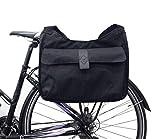 hapo G Fahrrad-Hecktasche Shopping Gepäckträger passend für E-Bike Erwachsene, Unisex, Schwarz,...
