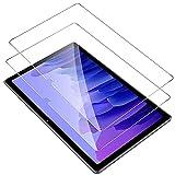 IVSOTEC für Samsung Galaxy Tab A7 Panzerglas, 9H Härte, 2.5D Displayschutz, [Einfache Installation][Anti-Kratzen][Anti-Bläschen], Schutzfolie für Samsung Tab A7 10.4 Zoll 2020, 2 Stück