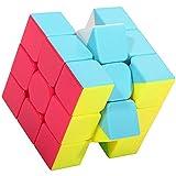 XMD Zauberwürfel Magic Cube 3x3 Turning Smooth Magic Cube 3D Puzzle for Kids Twist Brain Teasers IQ Toys
