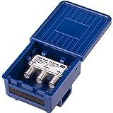 DUR-line 2/1 DiseqC Schalter - im Wetterschutzgehäuse für den Empfang von 2 Satelliten für 1...