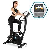 Capital Sports Evo Track Cardiobike - Fitnessfahrrad mit Trainingscomputer, Heimtrainer, Bluetooth,...