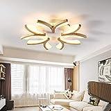 Xiao Holz Wohnzimmer Leuchten LED-Deckenleuchte Einfache, Moderne Holz-Schlafzimmerlampe Studie
