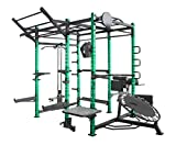 Generisch Green Tower, Functional Tower, Crossfit Power Cage, Power Rack Gym, Pull up, Chin up,...
