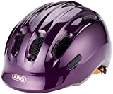 Abus Smiley 2.0, Unisex kinder Fahrradhelm,violett (royal purple), S (45-50 cm)