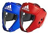 adidas AIBA Boxing Heard Guards Kopfschoner, Blau, M