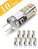 G4 LED Lampen, 1.5W LED Birnen ersetzt 20W Halogenlampen, Warmweiß 12V AC/DC LED Leuchtmittel,...