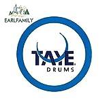 A/X 13 cm x 13 cm für Taye Drums Percussion Fashion Decal Digital gedruckte Sonnencreme...