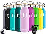 Super Sparrow Trinkflasche Edelstahl Wasserflasche - 500ml- Isolier Flasche mit Perfekte...