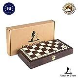 Amazinggirl Schachspiel Schach Backgammon Holz Schachbrett - 3 in 1 Dame Chess Set Reise für Kinder...