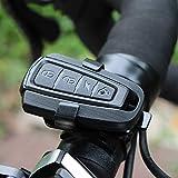 WITHOUT BRAND Fahrrad-Smart-Rücklicht Einbruchalarmlicht Anti-Diebstahl-Rücklicht Brems Sensing...