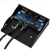 minifinker USB-Frontplatte, Frontplatte für eine Bequeme und effiziente Langzeitnutzung für einen Mainframe mit leerem Diskettenlaufwerk