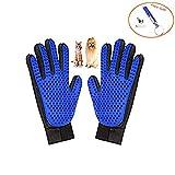 Anlising Haustier-Bürstenhandschuh, effizient, Fünf-Finger-Design, für Katzen