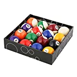 WXH Billard/Pool Balls Regulation, Premium Profi Billardkugel Billardkugel Set, komplett mit 16...