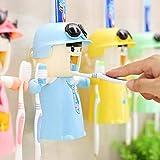 Kinderzahnbürstenhalter mit Tasse, Nette Hände geben Zahnpastaspender frei Kinder automatischer...