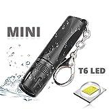 CLS813 Mini LED Taschenlampe zoombar & fokussierbar - Handliche LED Leuchte mit stufenloser...