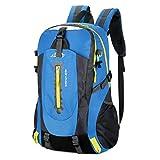 Outdoor Series Sport-Reiserucksack, Camping, Wandern, Trekking, Rucksack, wasserdicht, Blau, 1,30-40...