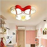 Xiao Kinderzimmer Moderner Minimalistische LED-Deckenleuchte Mickey Mouse Baby-Raum Mit Umweltschutz...