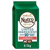Nutro Dog Ausschluss-Diät Adult Medium Mit Lachs (9,5kg) (kann variieren)