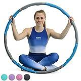 CORE BALANCE Gewichtet Schaumstoff Fitness Bewegung Hula Hoop Reifen, Wellenstruktur, 1,2 kg