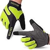 boildeg Fahrradhandschuhe Radsporthandschuhe rutschfeste und stoßdämpfende Mountainbike Handschuhe...