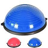 MSPORTS Balance Ball Trainer Premium   Gymnastikball + Expander & Pumpe - beidseitig nutzbar  ...