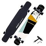 YF-Barstool Komplettes Skateboard - 118 x 24 cm für Erwachsene und Mädchen zum Cruisen, Carven,...