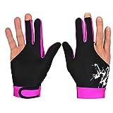 Diasdaisda Handschuhe für Motorrad Snooker Cue Sporthandschuhe - Rechts- oder Linkshänder, 1- bis...