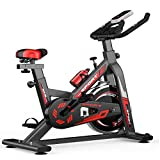 GOLDEN MANGO Indoor Cycling Spinning Bike, Heimfitnessgeräte, Einstellbarer Flüsterleises...