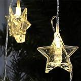 Crystal Star Lichterketten, Xmas Decor Led Fairy Light Lampe Geeignet Für Schlafzimmer Wohnzimmer...