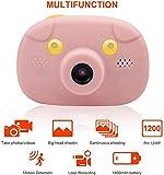 FXDCQC 12MP/1080 P HD Digitalkamera mit 2.4 Zoll Touchscreen / 32GB TF-Karte/Foto &...