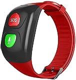 LEDLXK GPS-Tracker Für Senioren Anti-Verlorene Smart Watch,Mit SOS Notruf GPS Ortung, Telefon,Heart...