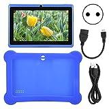 FEYV Kleinkind-Tablet, Lern-APP Vorinstallierte Tablets High Definition mit Unterstützung für WiFi-Verbindung Strapazierfähige Hülle für die Reiseschule zum Camping(Transl)