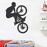 yaonuli Tapete Mode Radfahren Fahrrad Sport Extreme Wandaufkleber Vinyl Abnehmbare Dekoration...