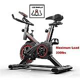 Übung Heimtrainer Fahrrad,Indoor Fitnessbikes Mini, Einstellbares Professionelles Heimtrainer Mit...