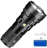 KaiKai P90 4800LM High Power Spotlight super helle Taschenlampe, Aluminium-Legierung...