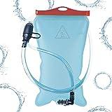 Atacama Trinkblase 2L mit Beissventil, Version 2018, hochwertigem, BPA-frei, geschmacksneutral und...