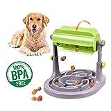 Alsanda Interaktives Hundespielzeug Futter Napf 2in1 für Hunde und Katzen | Gesunder Snackspender |...