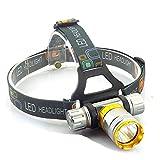 LED Stirnlampe 2000 Lumen High Power T6 Tauchscheinwerfer Frontscheinwerfer Unterwasser Stirnlampe...