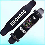 SHPT Pennyboard Skateboard Für Anfänger 41 Zoll Longboard Hybrid Freestyle Zum Tanzen Cruisen...