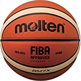 Molten X-Indoor/Outdoor Basketball, FIBA Approved–BGMX, Orange/Braun, 7