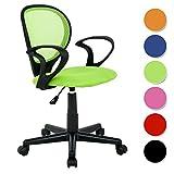SixBros. Bürostuhl,Schreibtischstuhl, Drehstuhl für's Büro oder Kinderzimmer, stufenlos...