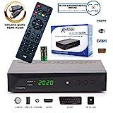 Anadol HD 222 Pro - PVR Aufnahmefunktion, Timeshift, Multimedia - 1080P Digital HDTV Sat-Receiver...