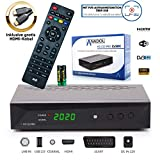 Anadol HD 222 Pro - PVR Aufnahmefunktion, Timeshift, Multimedia - 1080P Digital HDTV Sat-Receiver...