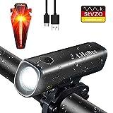 LIFEBEE LED Fahrradlicht Set, StVZO Zugelassen LED Fahrradbeleuchtung Fahrradlampe fahrradlichter...