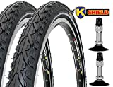 KENDA 2 x Fahrradreifen Pannensicher 28 Zoll 28' 28x1.60 42-622 700x40C K935 K-Shield schwarz...
