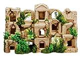 Nobby Aqua Ornaments 'FISCH HABITAT' mit Pflanzen  42 x 12 x 27,5 cm