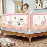 Bettgitter für Babys, Vertikal Anhebendes Anti-Fall-Bett Geländer Verstellbare...