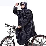 GAIXIA Regenjacke vielseitiger Leichter Poncho mit Hut, der im Freien die Zeltmatte des...